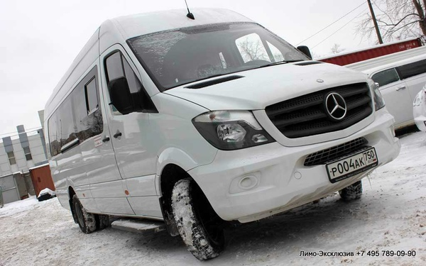 Mercedes-Benz Sprinter (№ 004) Белый