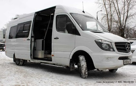 Прокат лимузина - Mercedes-Benz Sprinter