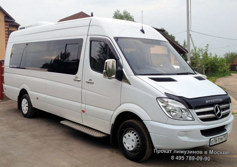 Прокат Mercedes-Benz Sprinter Белый (№ 761) недорого