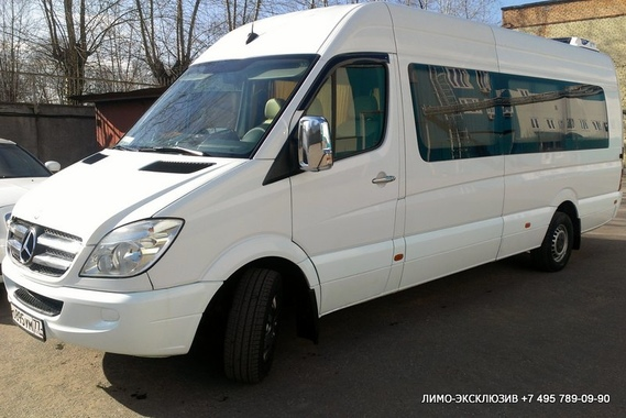 Mercedes-Benz Sprinter (№ 895) Белый