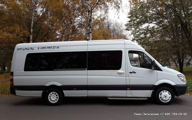 Прокат Mercedes-Benz Sprinter Белый (№ 991) недорого