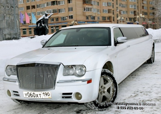 Лимузин Chrysler 300c (№ 060) Белый