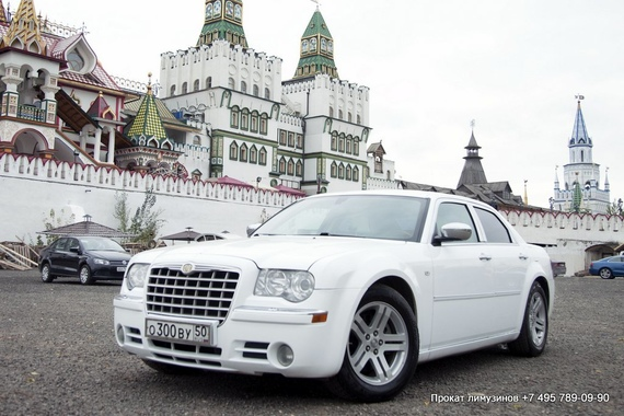 Chrysler 300с (№ 300) Белый
