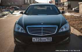 Прокат лимузина - Mercedes-Benz W221 S500 Long